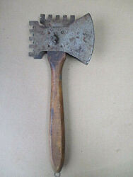 Antique Whatand039s It Toolice Tool Tyler Mfg. Co.metalwood Handlec.1900 11l.