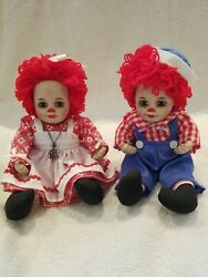 Marie Osmond Rosie And Rags 1996 5 1/2in. Porcelain Collectibles Sitting Down