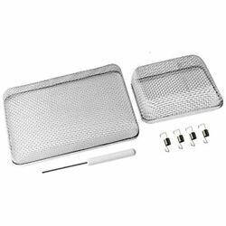Wadoy Rv Furnace Screen For Water Heater Vent Cover, Stainless Steel Mesh With