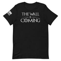 Legion Apparel - The Wall Is Coming Unisex T-shirt Color Black Game Of Thrones