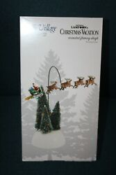 Department 56 National Lampoons Christmas Vacation Animated Flaming Sleigh