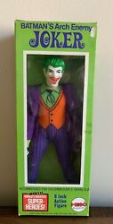 Very Rare 1973 Mego The Joker World's Greatest Super Heroes 8 Figure Complete