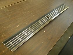 Nos Oem Ford 1968 Galaxie 500 Deck Trunk Lid Moulding Trim Finish Panel