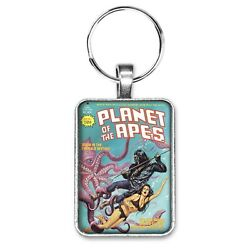 Planet Of The Apes Comic Magazine 15 Cover Key Ring Or Necklace Comic Book