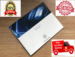 Mercedes Service History Book Brand New And Genuine Blank Cover C Class E Class