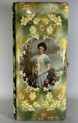 Outstanding Victorian Celluloid Elongated Photo Album