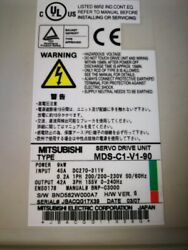 1pc Used Mds-c1-v1-90 Mitsubishi Tested Fully Fast Delivery