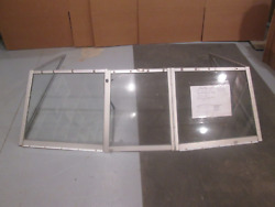 1983 Crestliner Nordic 16ft Boat Windshield Window Walk Through 60 3/8 Wide