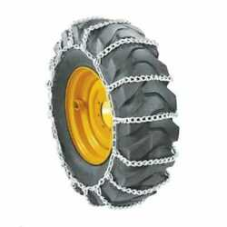Skid Steer Loader Tire Chains - Ladder Chains Every 4 Links 9.5 X 16 - Sold In