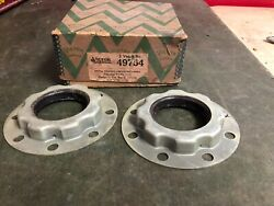 1930 Chrysler 1929-30 Dodge Truck Rear Wheel Outer Seals Pair Nors Victor 219