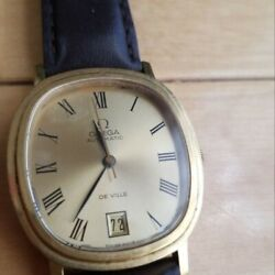 [rare 70and039s Antique] Omega De Ville Hand-wound [shipping Free From Japan]