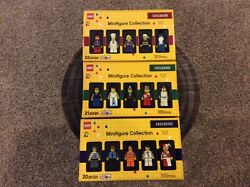 Lego 2013 Toys-r-us Exclusive Minifigure Collection Vol. 1-3 New Rare