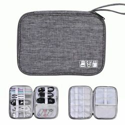 Cable Organiser Bag Travel Electronics Accessories Cables Flash Usb Drive Charge