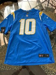 New Nike Nfl Los Angeles Chargers Justin Herbert Jersey Size Small