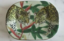 Ornamental Plate Dish - And039cheaters In The Wildand039 18ct Gold Plate -- Perfect Giftandnbsp