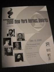 New York Heroes 2000 Promo Poster Ad Bernadette Peters Diana Ross Tito Puente