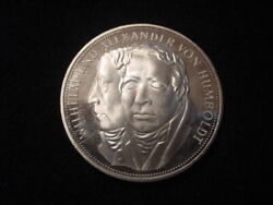 German Federal Republic 1967f 5 Mark Coin, Proof Condition, Km 120.1