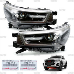 Set Projector Head Lamps Lights Fits Toyota Hilux Revo M70 80 Facelift 2020 2021