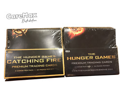 Neca The Hunger Games Trading Card Box Lot Of Two Boxes - 2012 + 2013