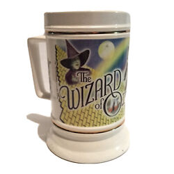 The Wizard Of Oz Collectible Beer Stein Ceramic Pedestal Mug Dorothy Witch Lion
