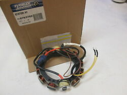 763762 0763762 Evinrude Johnson 60-75 Hp 3 Cyl Outboard Stator 1989-98 0583779