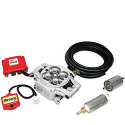 Msd 2900 Atomic Efi Fuel Injection Kit W/electric Fuel Pump Supports 525 Hp Max