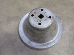 1972 Dodge Mopar Charger 318 Engine Water Pump Pulley 6 7/8 Hot Rod Parts