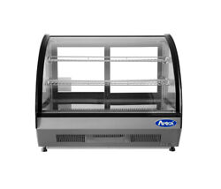 Countertop Merchandiser Good Quality Refrigerated Display Curved By Atosa