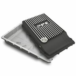 Ppe Brushed Aluminum Transmission Pan 2018+ Ford Mustang With 10r80 Transmission