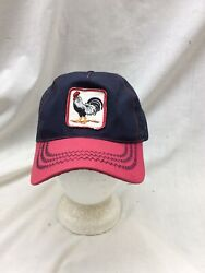 Trucker Hat Baseball Cap Vintage Snapback Mesh Patch Rooster Farm Agriculture