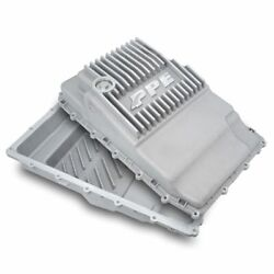 Ppe Raw Aluminum Deep Transmission Pan 2019+ Ford Ranger With 10r80 Transmission