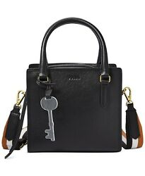Fossil Womens Hope Crossbody Black Bag ZB7908001 Handbag $126.61