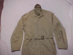 Original, Rare And Unique Khaki Cotton Twill Aaf Type A-4 Summer Flying Suit