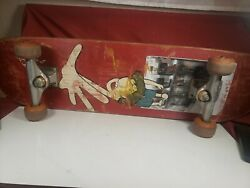 The Firm Lance Mountain Complete Skateboard Deck Independent Vintage