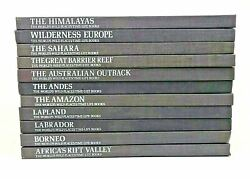 Lot Of 11 Time-life Books - The Worldand039s Wild Places 1970s