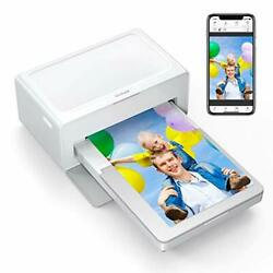 Photo Printer Print 4 X 6 Inch Photos Bluetooth Instant Photo Printer