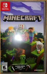 Nintendo Switch Minecraft Game  brand New Factory Sealed