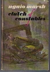 Clutch of Constables by Ngaio Marsh 1969 BCE hardcover $2.99