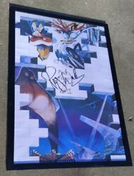 Pink Floyd Roger Waters Signed + Framed The Wall 24x36 Poster Exact Proof