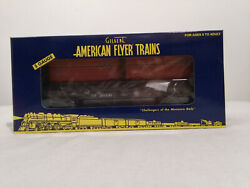 American Flyer 6-48246 Ttos 2006 Southern Pacific Flatcar With Trailer