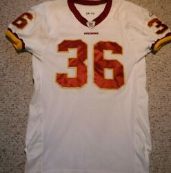 Washington Redskins Sean Taylor Authentic Game Cut Jersey 2004 Rookie Year