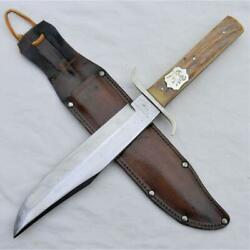 Bills Military Stores Rare 1960th Original Bowie Knife Made In Solingen Germany