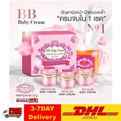 Bb Baby Cream Super Whitening Clear Skin Reduce Occurrence Freckles Dark Spots