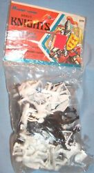 1973 Multiple Products Toymakers Mpc Timmee Lido Medieval Knights Army Soldiers