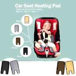 12v Universal Baby Car Seat Cover Warm Seat Heating Electric Seat Heating Pad