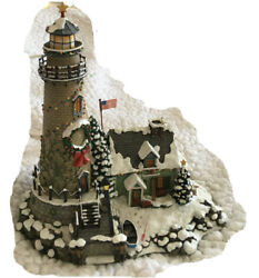 Danbury Mint Christmas Cove Cove Reef Lighthouse