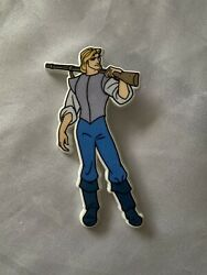 Official Disney Badge Of Captain John Smith From Andlsquopocahontasandrsquo Vintage 1995
