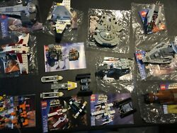 Star Wars Retired Loose Mini Lego Lot Of 14 Sets 100 Complete
