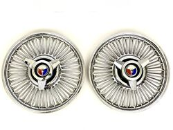 1964-1967 Galaxie Falcon Mustang Fairlaine Wire Hubcaps