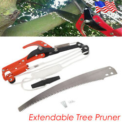 Tree Pruning Saw Cutter Extendable Saw Pruning Branch Blade Cutter Pruner Pole